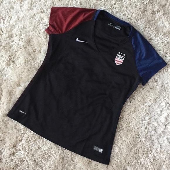 best service 11e34 32b04 Nike USWNT Soccer Jersey Women's L 743671-010 USA NWT